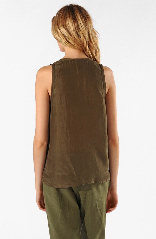 Alternate Image 2  - maje 'Accisse' Silk Tank