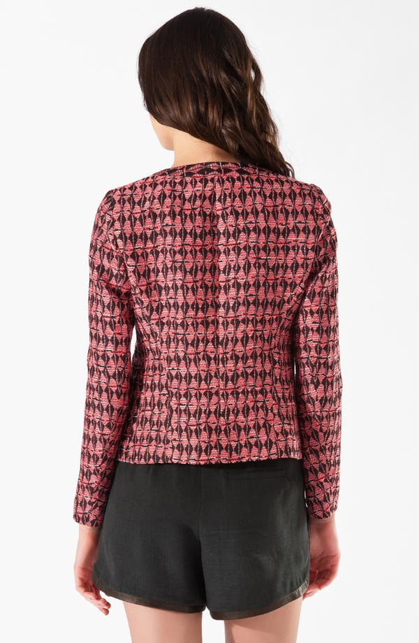 Alternate Image 2  - maje 'Cafe' Jacquard Blazer