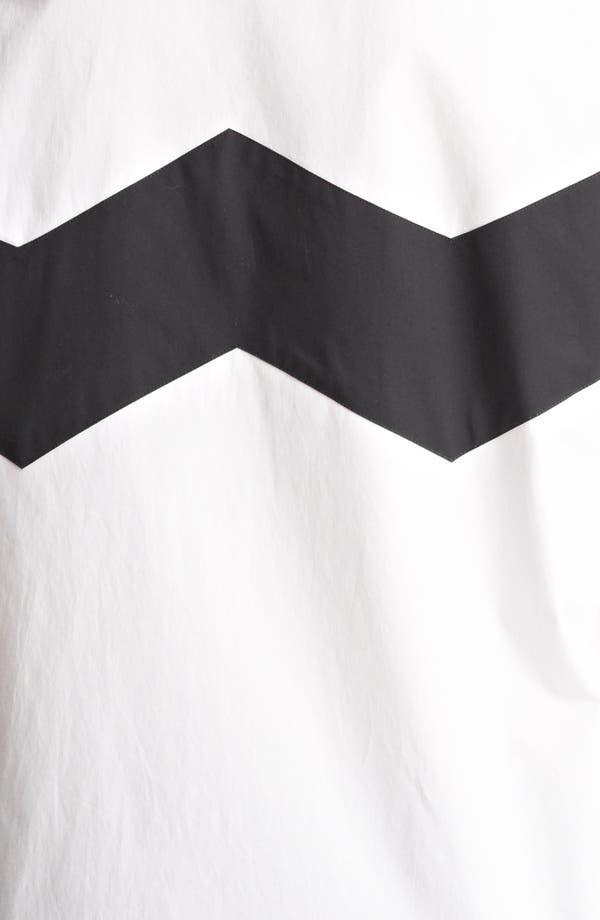 Alternate Image 3  - Burberry Prorsum Chevron Detail Shirt