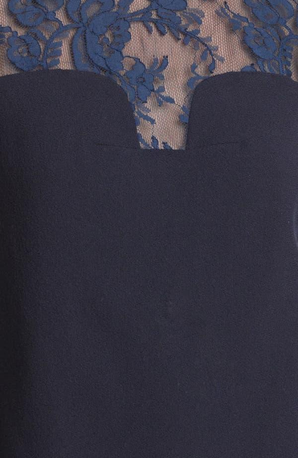 Alternate Image 3  - Erdem Contrast Lace Shell