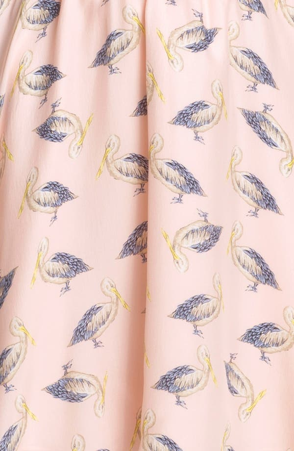 Alternate Image 3  - Milly 'Julie' Silk Blouson Dress