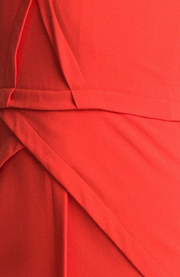Alternate Image 3  - BCBGMAXAZRIA Seam Detail Sleeveless Sheath (Petite)