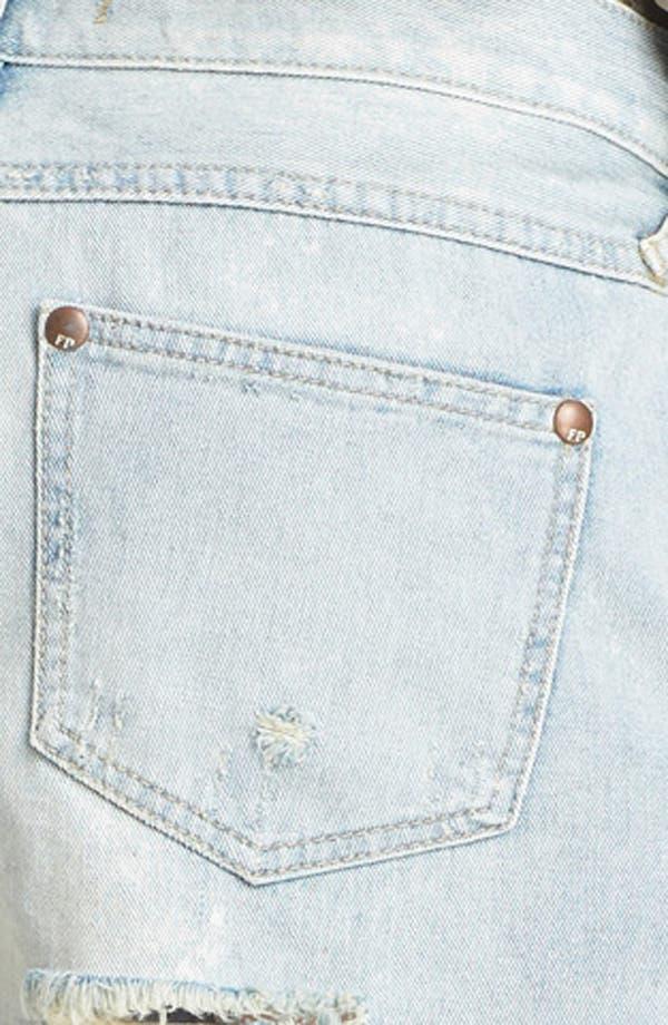 Alternate Image 3  - Free People Cutoff Denim Shorts (Lou Lou Blue)