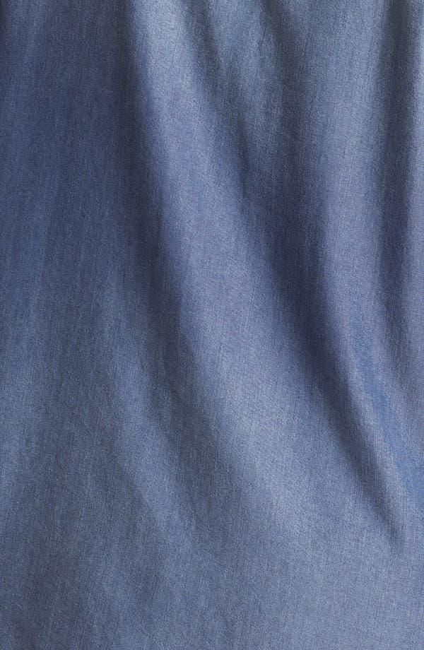 Alternate Image 3  - Sejour Chambray Button Shirt (Plus Size)