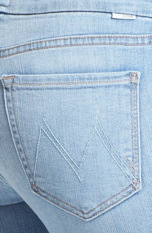 Alternate Image 3  - MOTHER 'The Looker' Crop Skinny Jeans (Light Kitty)
