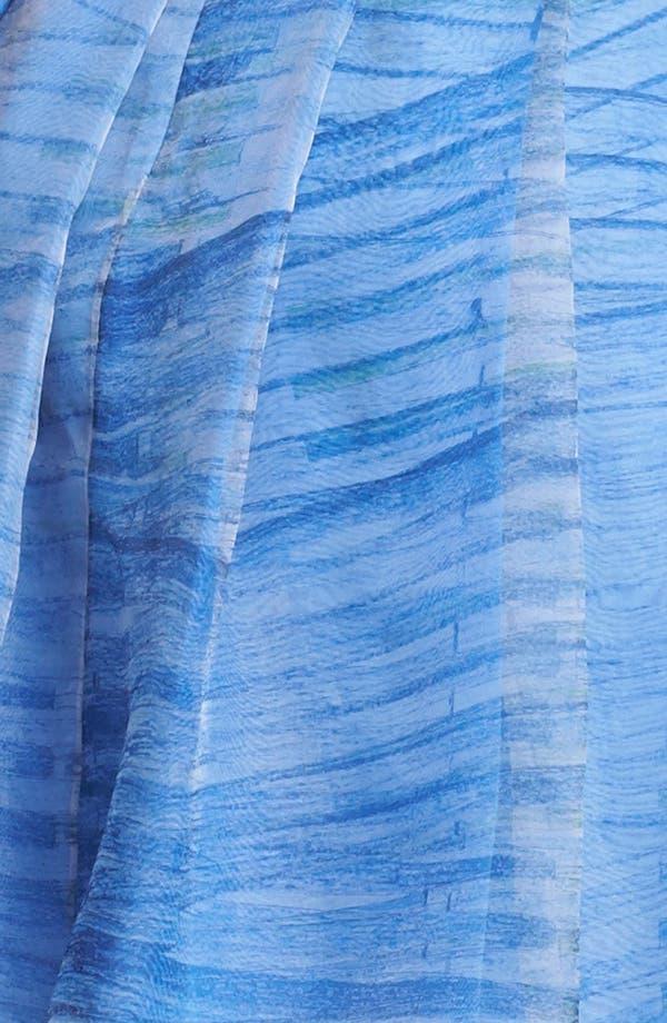 Alternate Image 3  - Halston Heritage Print Organza Fit & Flare Dress