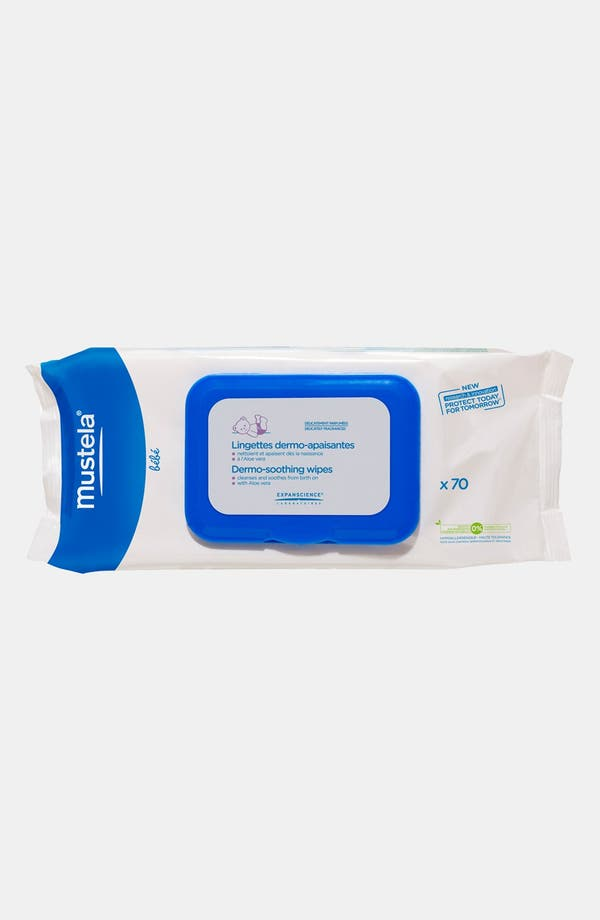 Alternate Image 1 Selected - Mustela® Dermo-Soothing Wipes