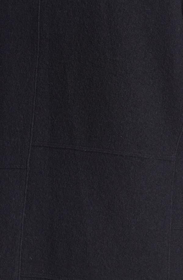 Alternate Image 3  - Kristen Blake Hooded Boiled Wool Topper (Plus Size) (Online Only)