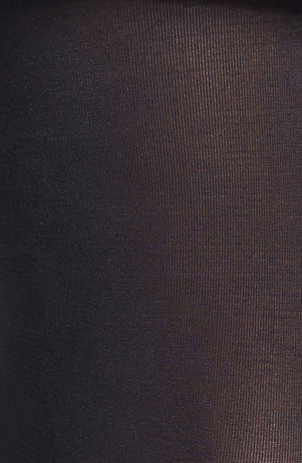 Alternate Image 4  - Donna Karan 'Evolution' Satin Jersey Tights