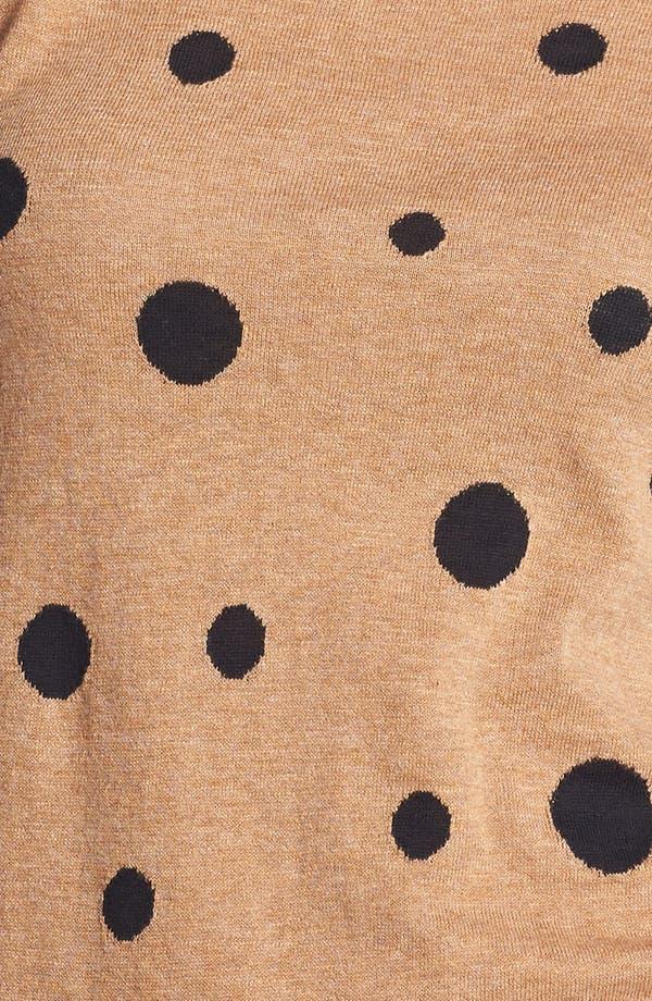 Alternate Image 3  - Halogen® Crewneck Sweater (Regular & Petite)