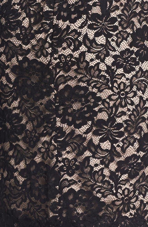 Alternate Image 3  - ML Monique Lhuillier Sleeveless Lace Sheath Dress