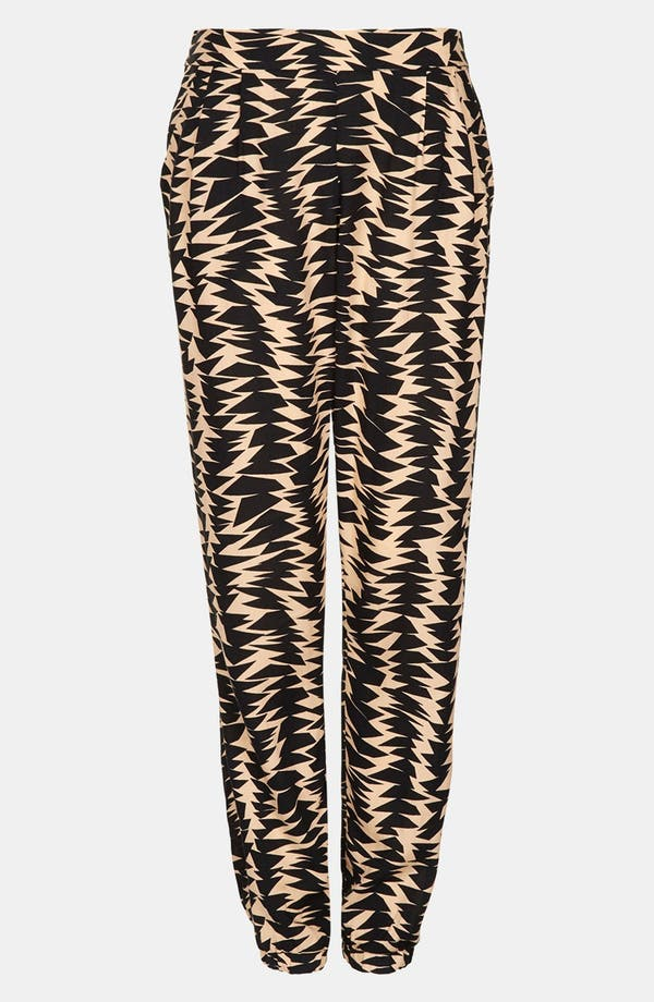 Alternate Image 3  - Topshop Geometric Print Jogging Pants