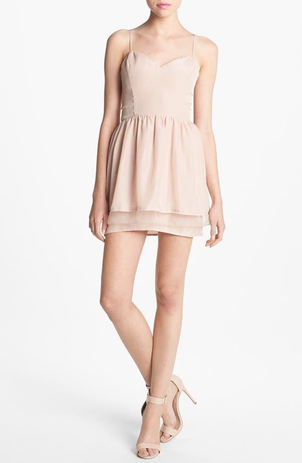 Main Image - Like Mynded Elastic Back Dress