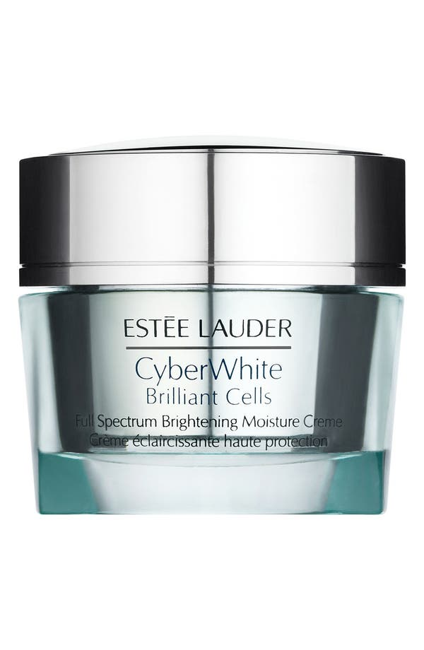 Alternate Image 1 Selected - Estée Lauder CyberWhite Brilliant Cells Full Spectrum Brightening Moisture Creme