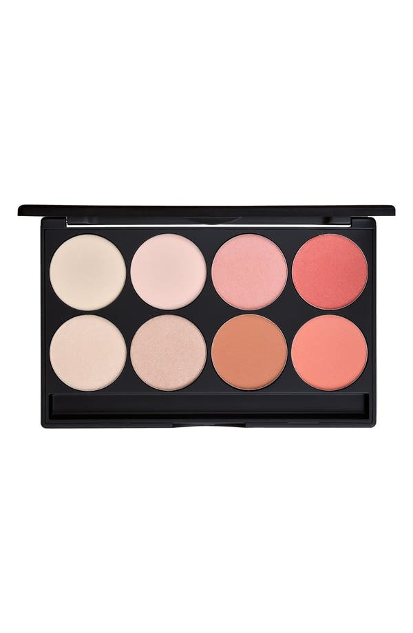 Alternate Image 1 Selected - Gorgeous Cosmetics Eight-Pan Blush & Highlighter Palette