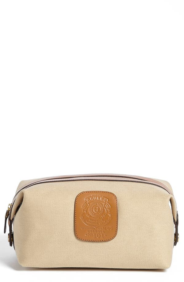 Alternate Image 1 Selected - Ghurka 'Holdall' Twill Grooming Case