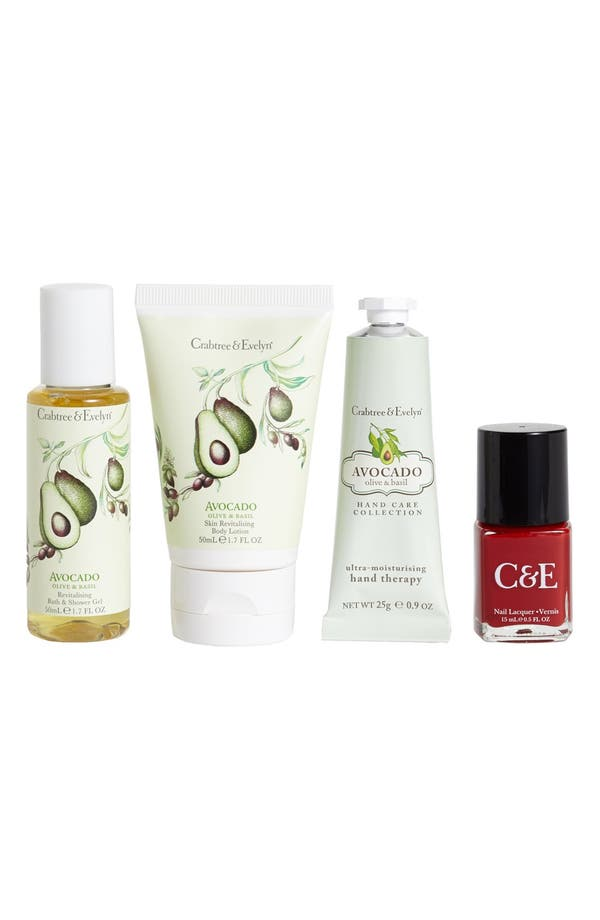 Alternate Image 1 Selected - Crabtree & Evelyn 'Avocado, Olive & Basil' Beauty Box ($26 Value)
