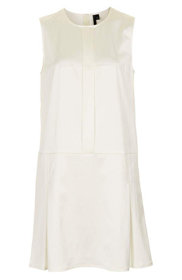 Alternate Image 3  - Topshop Pleated Silk Shift Dress