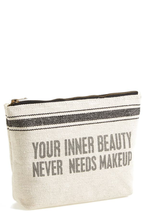 Main Image - Primitives by Kathy 'Your Inner Beauty Never Needs' Cosmetics Case