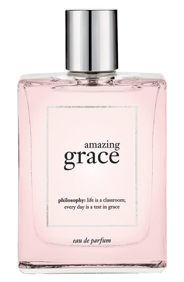 Alternate Image 1 Selected - philosophy 'amazing grace' eau de parfum spray