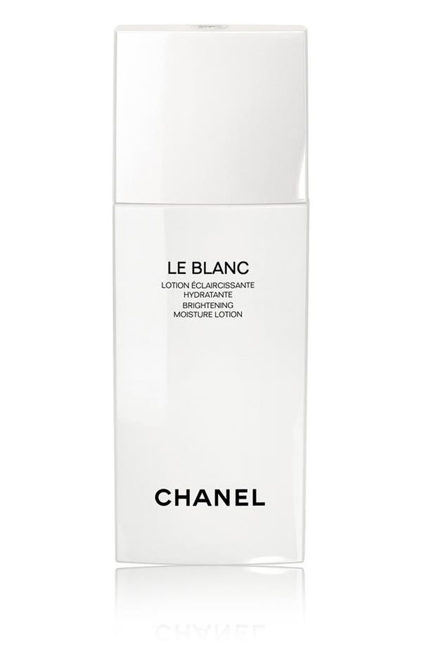 Alternate Image 1 Selected - CHANEL LE BLANC Brightening Moisture Lotion