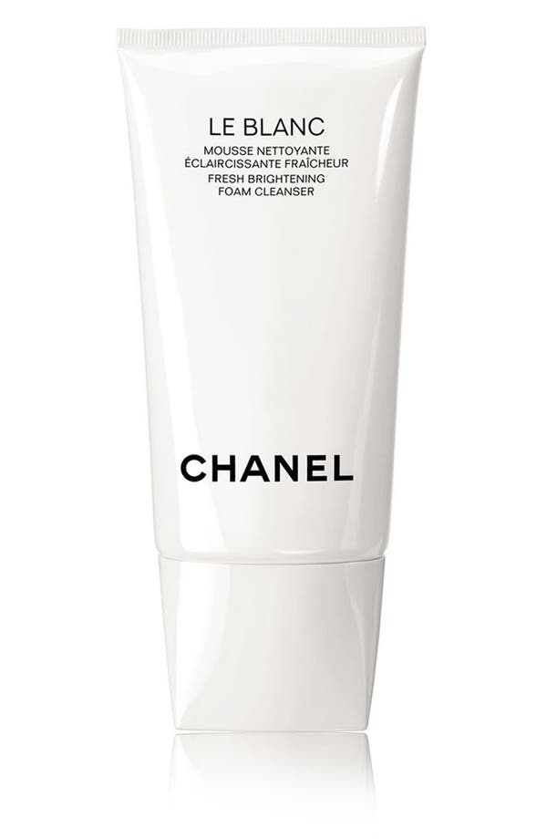 Alternate Image 1 Selected - CHANEL LE BLANC Fresh Brightening Foam Cleanser