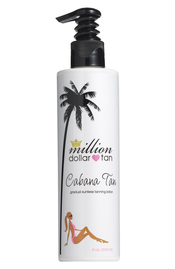 Alternate Image 1 Selected - Million Dollar Tan Cabana Tan Gradual Sunless Tanning Lotion