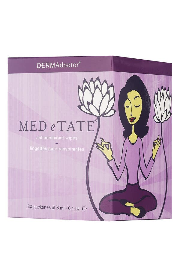 Alternate Image 1 Selected - DERMAdoctor® 'MED e TATE®' Antiperspirant Wipes