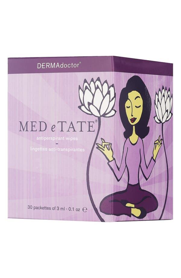 Main Image - DERMAdoctor® 'MED e TATE®' Antiperspirant Wipes