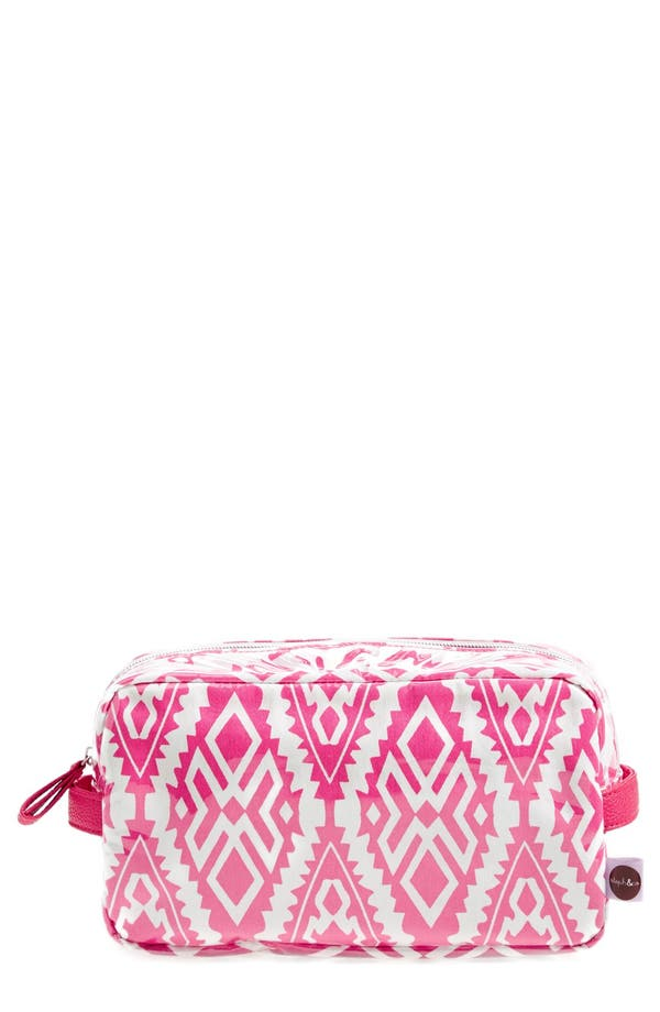 Alternate Image 1 Selected - steph&co. 'Tahiti - Viveca' Travel Cosmetics Case (Nordstrom Exclusive)
