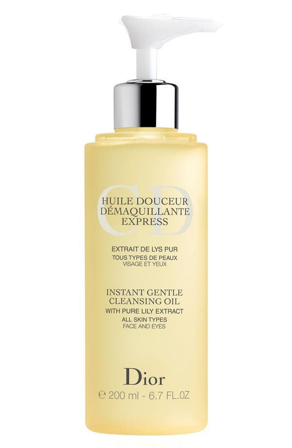 Alternate Image 1 Selected - Dior Instant Gentle Cleansing Oil for All Skin Types