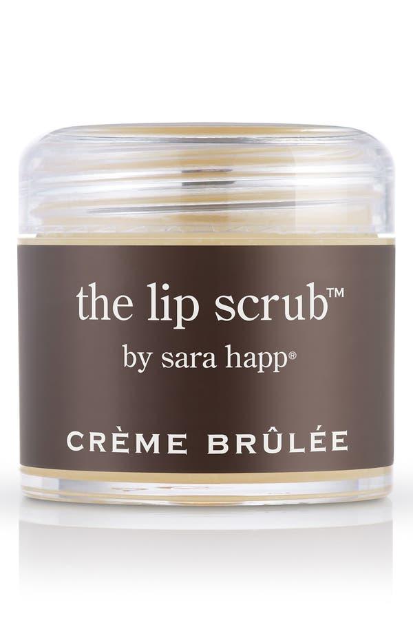 Main Image - sara happ® The Lip Scrub™ Crème Brûlée Lip Exfoliator