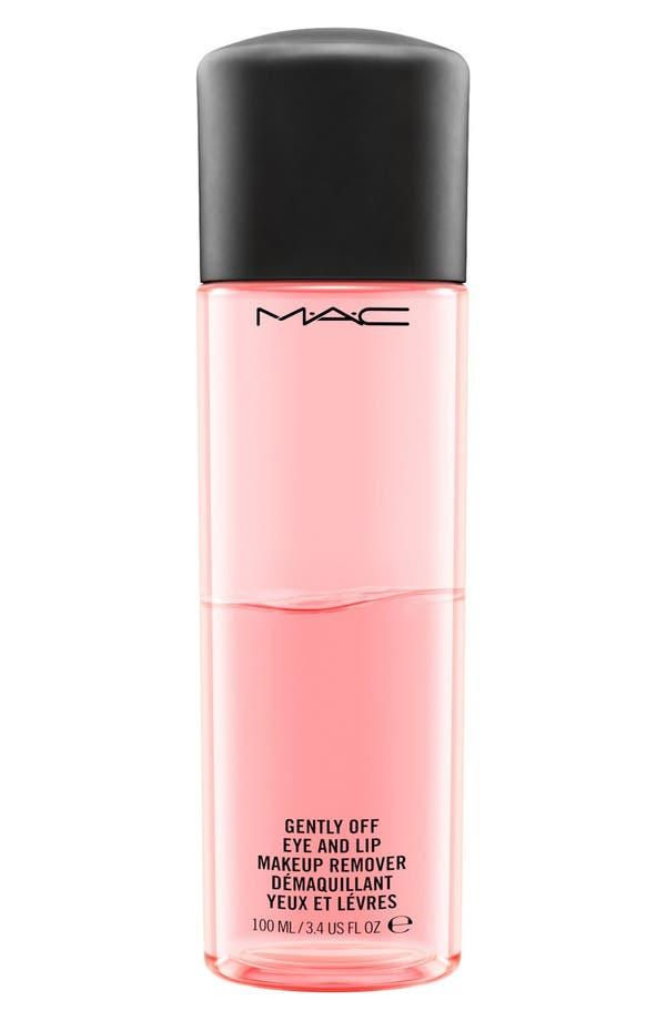 Alternate Image 1 Selected - MAC Gently Off Eye & Lip Makeup Remover