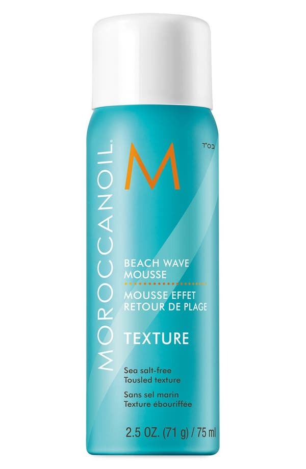 Alternate Image 1 Selected - MOROCCANOIL® Beach Wave Mousse