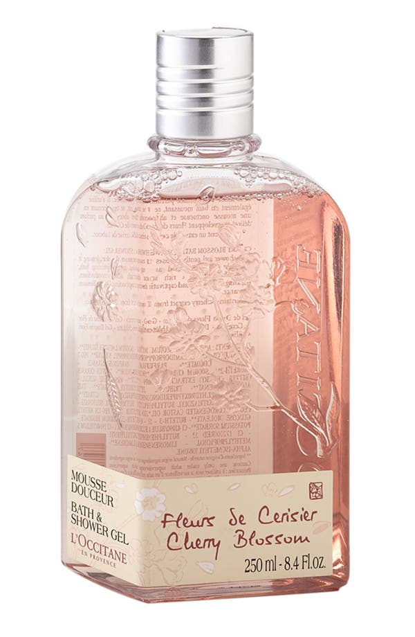 Main Image - L'Occitane 'Cherry Blossom' Bath & Shower Gel