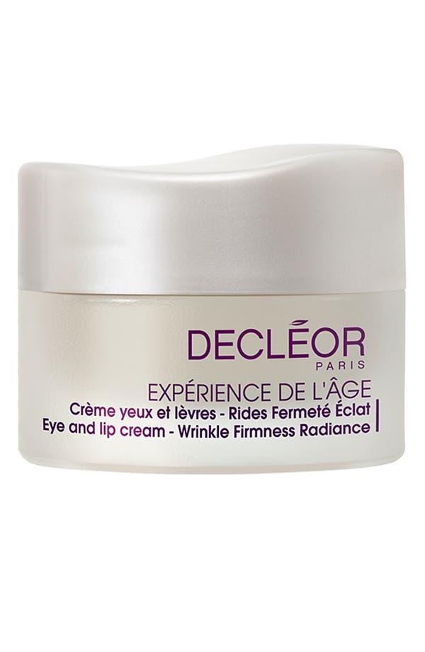 Main Image - Decléor 'Expérience de l'Âge' Eye and Lip Cream - Wrinkle Firmness Radiance