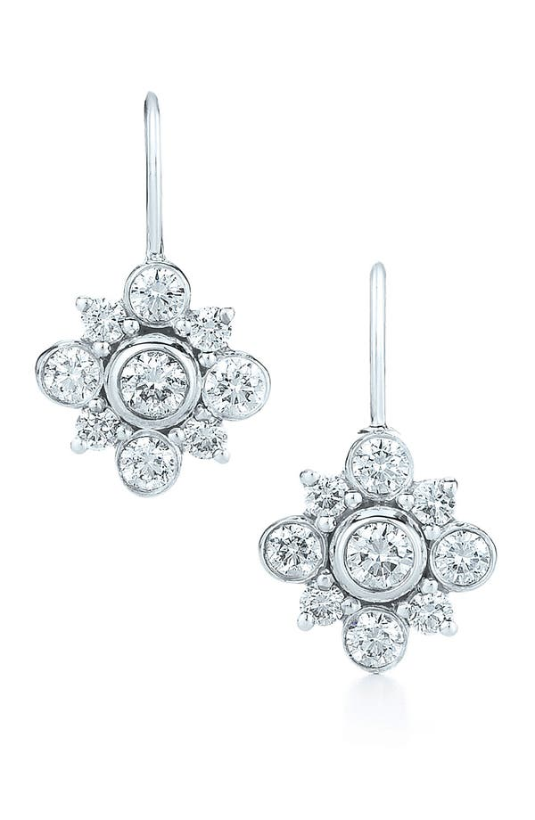 Alternate Image 1 Selected - Kwiat 'Petal' Diamond & White Gold Drop Earrings