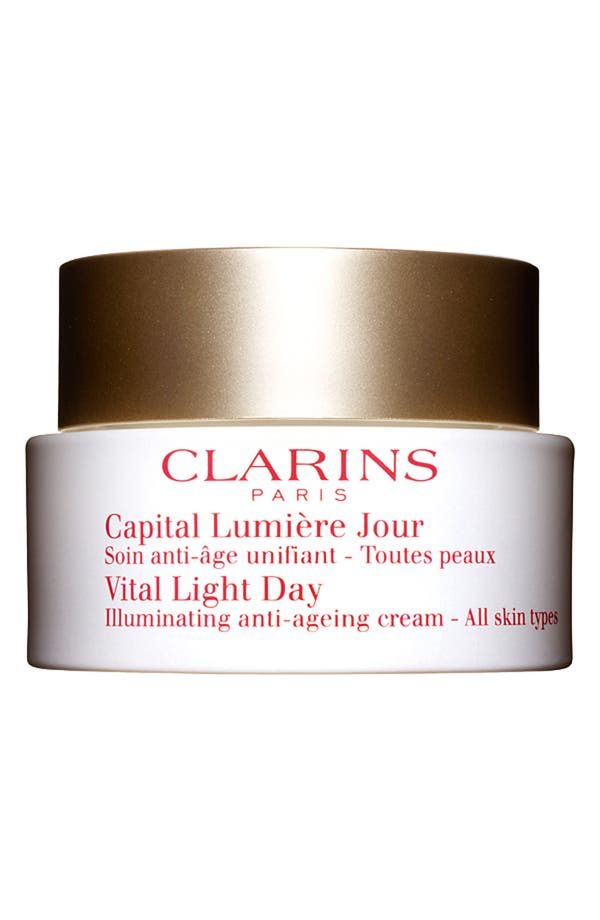 Alternate Image 1 Selected - Clarins 'Vital Light' Day Cream for All Skin Types