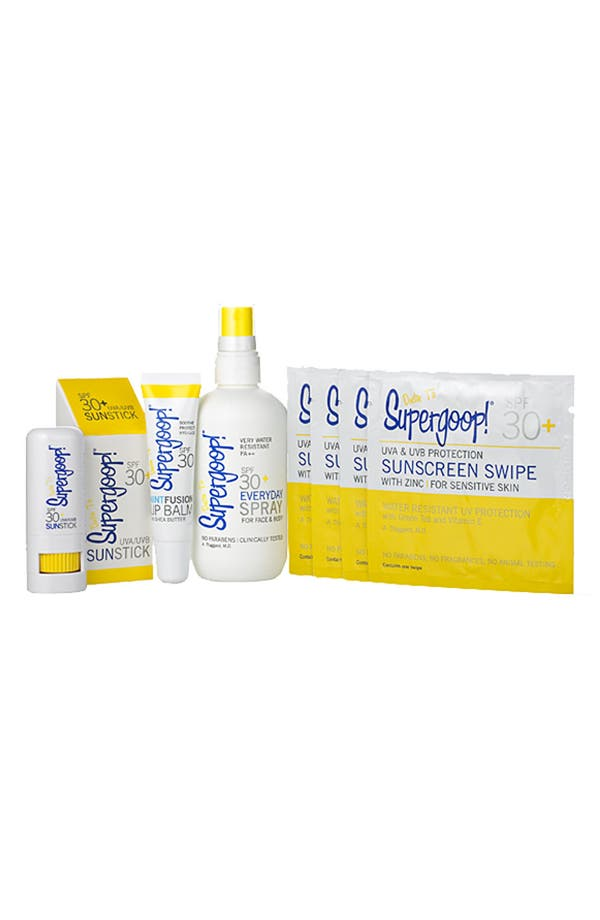 Alternate Image 1 Selected - Supergoop!® 'Weekend Sun Care Essentials' Kit ($58 Value)