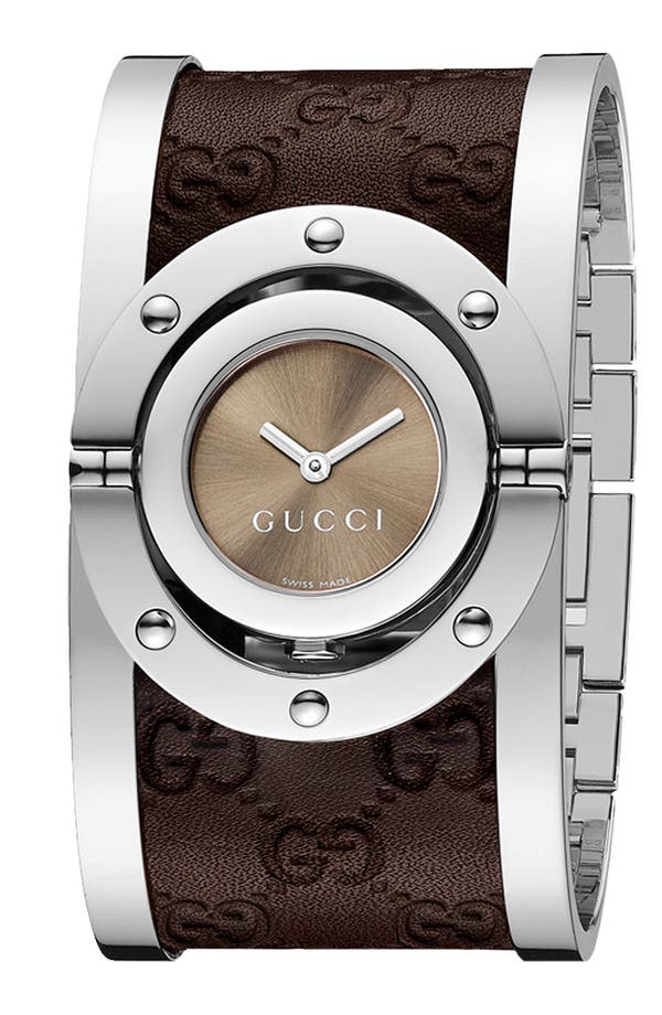 Alternate Image 1 Selected - Gucci 'Twirl Collection' Watch, 23mm