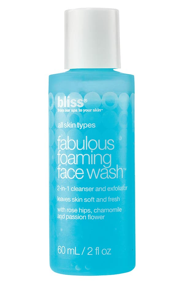Main Image - bliss® 'Fabulous' Foaming Face Wash