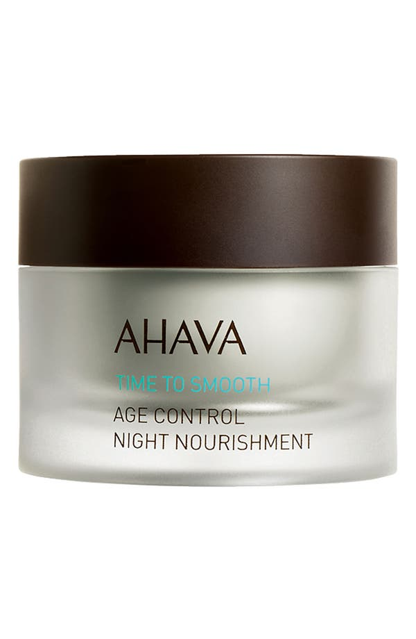 Alternate Image 1 Selected - AHAVA 'Time to Smooth' Age Control Night Nourishment