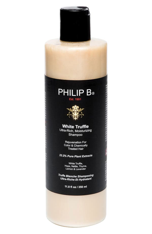 Alternate Image 1 Selected - SPACE.NK.apothecary PHILIP B® White Truffle Ultra Rich Moisturizing Shampoo