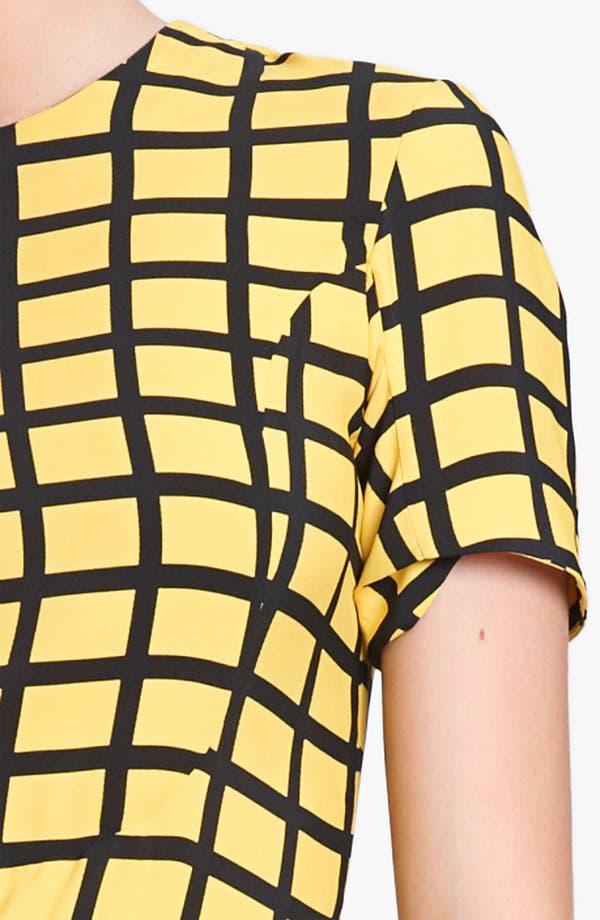 Alternate Image 3  - Marni Edition Grid Print Woven Dress