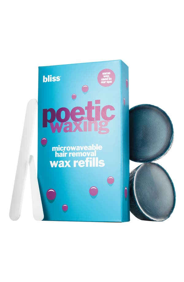 Alternate Image 1 Selected - bliss® 'Poetic Waxing' Microwaveable Hair Removal Refills