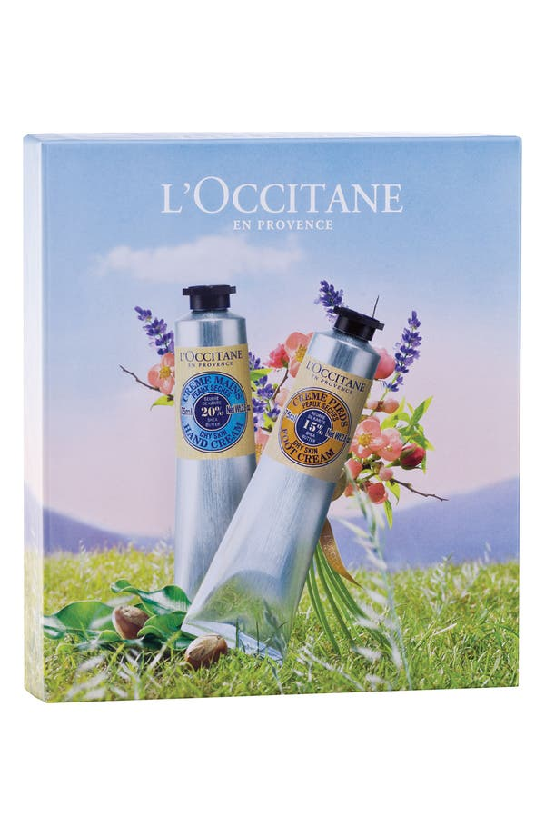 Alternate Image 2  - L'Occitane Shea Butter Hand & Foot Cream Duo (Nordstrom Exclusive) ($44 Value)