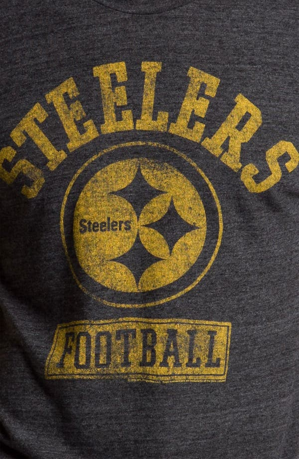 Alternate Image 3  - Junk Food 'Pittsburgh Steelers' Graphic Crewneck T-Shirt