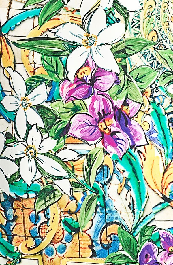 Alternate Image 3  - Dolce&Gabbana Floral Print Shell