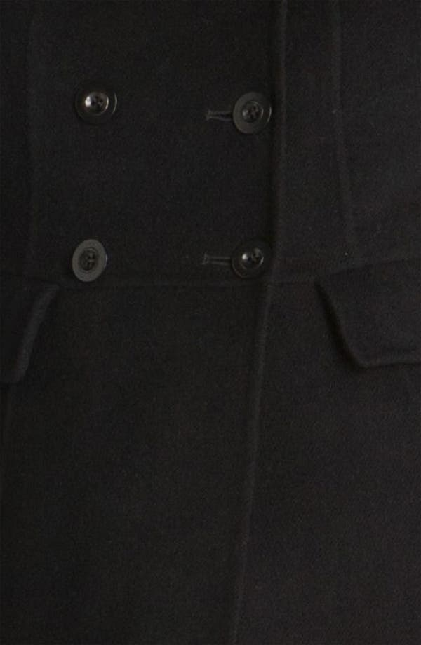 Alternate Image 4  - St. John Collection Funnel Neck Angora Blend Jacket
