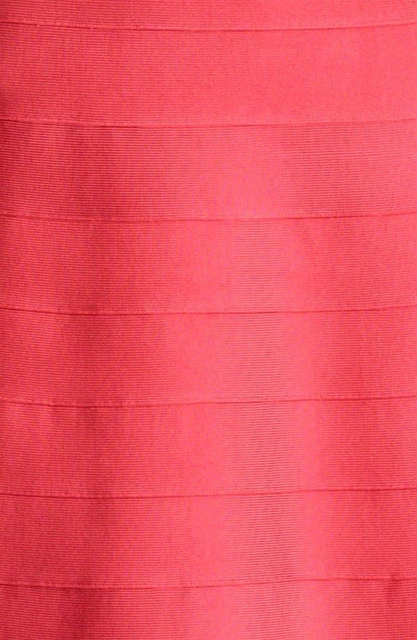 Alternate Image 3  - Herve Leger A-Line Bandage Dress